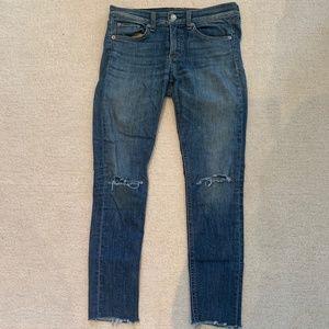 Low Rise Rag & Bone Jeans